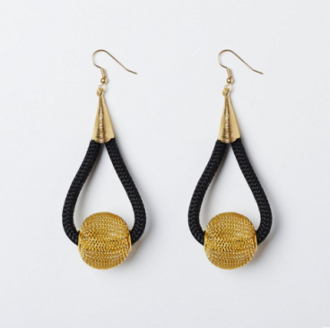 Curved Ball Earrings SS 15 Collection